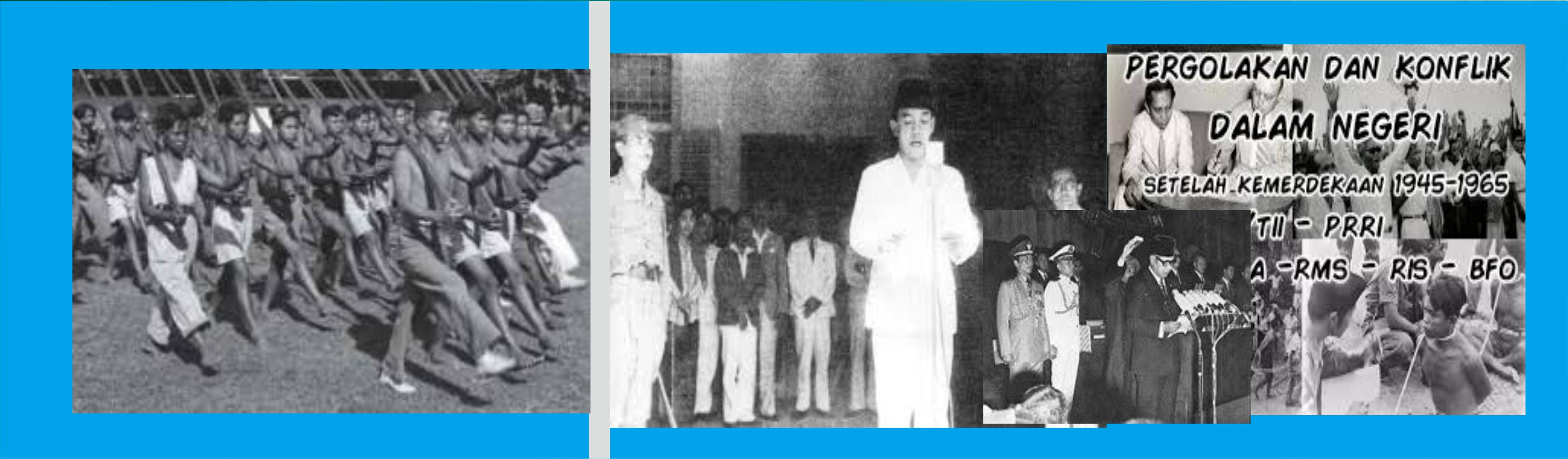 Sejarah Indonesia 1945 - 1966